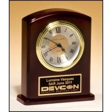BC970 Gloss Rosewood Clock